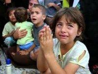 Los niños de la guerra y Niños que viven y nacen bajo el ruido de las bombas.jpg