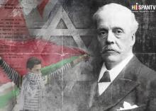 100 años de Complicidad Criminal entre el Sionismo y Gran Bretaña - Declaración Balfour.jpg