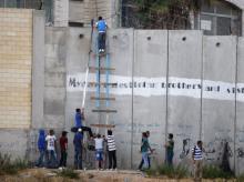 El muro de la vergüenza impuesto por Israel a Palestina.jpg