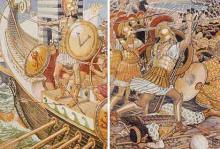 La situación de Bizancio y Persia en la época del Profeta del Islam, Mahoma.jpg