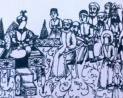 El relato de la reunión de la gente de la casa de Imam Huseyn con Ibn Ziyád después de la masacre de Karbalá.jpg